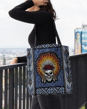 Native - Denim All-over Tote aos-all-over-tote-lifestyle-front-05