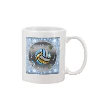 Blue Volleyball Mug tile