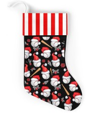 Baseball Christmas Stocking Christmas Stocking back