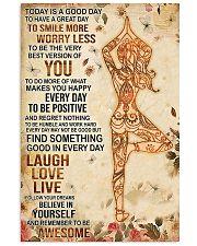 Yoga Laugh Love Live 11x17 Poster front