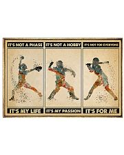 Softball - It's For Me Poster 17x11 Poster front