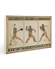 Softball - It's For Me Poster Gallery Wrapped Canvas Prints tile