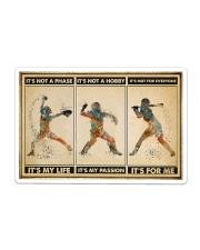 Softball - It's For Me Poster Sticker tile