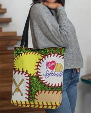 I Love Softball  All-over Tote aos-all-over-tote-lifestyle-front-09