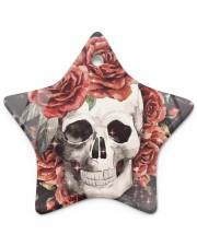 Skull Rose Ornament Star ornament - single (porcelain) thumbnail