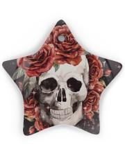 Skull Rose Ornament Star ornament - single (wood) thumbnail