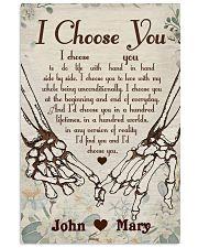 Skull - I Choose You Poster 11x17 Poster front