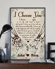 Skull - I Choose You Poster 11x17 Poster lifestyle-poster-2