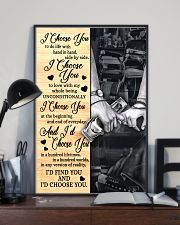 Barber - I Choose You Poster 11x17 Poster lifestyle-poster-2