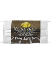 Softball - Play For Her Cloth face mask thumbnail