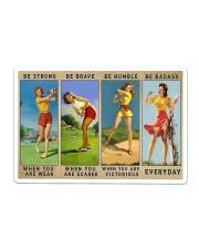 Golf - Be Strong Sticker - Single (Horizontal) thumbnail