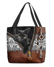 Black Cat All-over Tote front