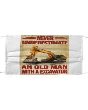 Never Underestimate An Old Man WIth A Excavator Mask tile