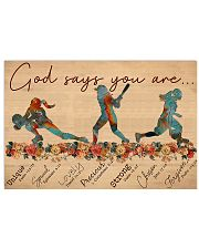 Multiple Sports - God Says You Are - Female 17x11 Poster front