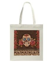 Skull Roses Tote Bag thumbnail