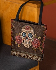 Skull Roses All-over Tote aos-all-over-tote-lifestyle-front-02