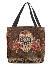 Skull Roses All-over Tote front