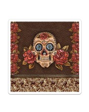Skull Roses Sticker - Single (Vertical) thumbnail