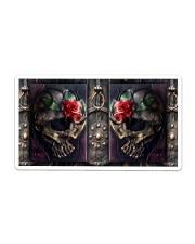 Skull Roses Tumbler Sticker - Single (Horizontal) thumbnail