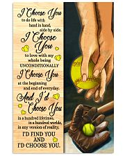 Softball - I Choose You Poster 11x17 Poster front