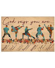 Jiu-Jitsu God Says You Are 17x11 Poster front