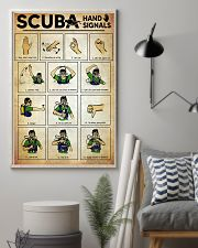 Scuba Hand Signals Poster  11x17 Poster lifestyle-poster-1