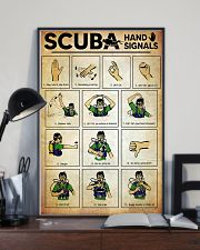Scuba Hand Signals Poster  11x17 Poster lifestyle-poster-2