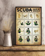 Scuba Hand Signals Poster  11x17 Poster lifestyle-poster-3