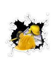 Engineer Crack Sticker - Single (Vertical) front