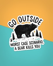 Camping - Go Outside Sticker Sticker - Single (Vertical) aos-sticker-single-vertical-lifestyle-front-02