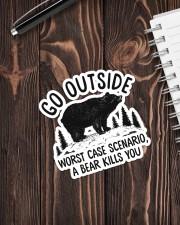 Camping - Go Outside Sticker Sticker - Single (Vertical) aos-sticker-single-vertical-lifestyle-front-05
