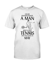 I LOVE TENNIS Classic T-Shirt front