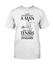 I LOVE TENNIS Classic T-Shirt front