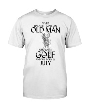 I  Love Golf  Classic T-Shirt front
