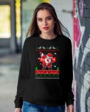 NOEL DABBING Crewneck Sweatshirt lifestyle-unisex-sweatshirt-front-9
