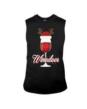 Winedeer Christmas Wine T-Shirt Reindeer Red Wine  Sleeveless Tee thumbnail
