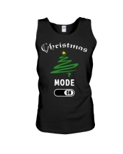 Christmas Mode On T Shirt for Women Men   Children Unisex Tank thumbnail