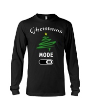 Christmas Mode On T Shirt for Women Men   Children Long Sleeve Tee thumbnail