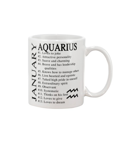 AQUARIUS - JANUARY