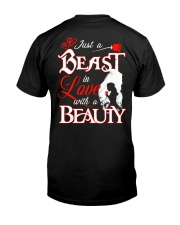 JUST A BEAST IN LOVE WITH A BEAUTY Classic T-Shirt thumbnail