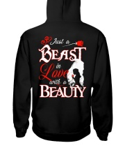 JUST A BEAST IN LOVE WITH A BEAUTY Hooded Sweatshirt thumbnail