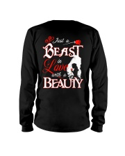 JUST A BEAST IN LOVE WITH A BEAUTY Long Sleeve Tee thumbnail