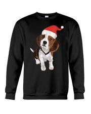 Beagle Santa Hat Shirt Merry Christmas Beagle Love Crewneck Sweatshirt thumbnail