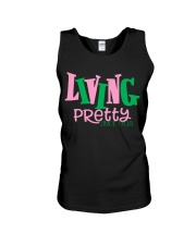 Living Pretty AKA Shirt - AKA Sorority - 1908 Unisex Tank thumbnail