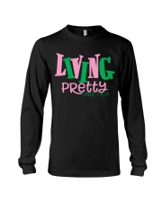 Living Pretty AKA Shirt - AKA Sorority - 1908 Long Sleeve Tee thumbnail