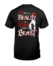 JUST A BEAUTY IN LOVE WITH A BEAST Classic T-Shirt thumbnail
