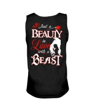 JUST A BEAUTY IN LOVE WITH A BEAST Unisex Tank thumbnail