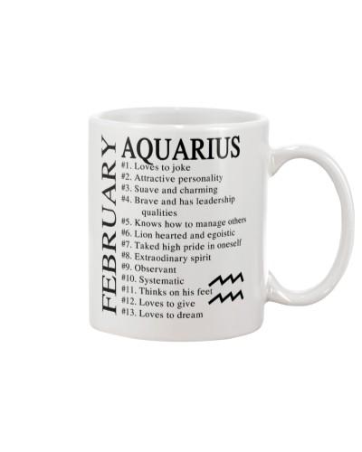 FEBRUARY - AQUARIUS