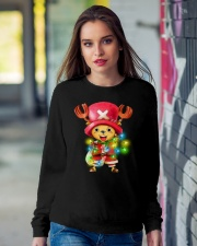 TONY CHOPPER MERRY CHRISTMAS Crewneck Sweatshirt lifestyle-unisex-sweatshirt-front-9