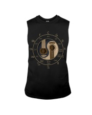 Circle Of Fifths Yin Yang Guitar Chord T-shirt Sleeveless Tee thumbnail